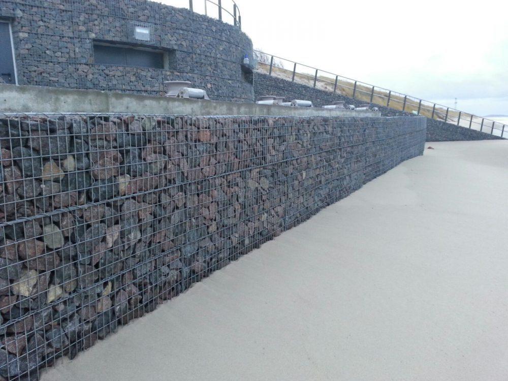 gabioninės tvoros įrengimas
