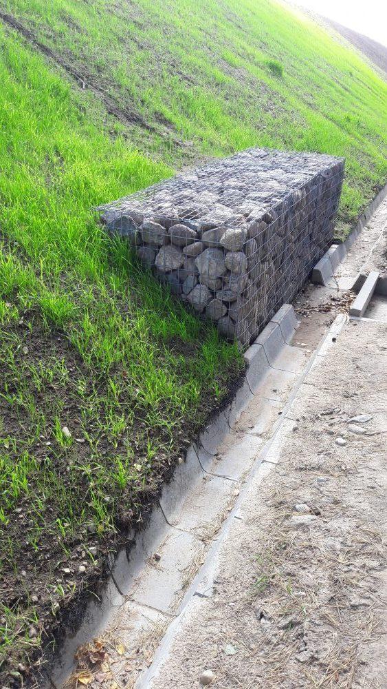 gabioninė tvora